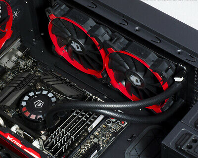 ID-COOLING FrostFlow 240L-R Red LED AIO CPU Liquid Cooler