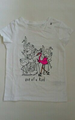 Next Girls Flamingo T-Shirts Age 6 Years Brand New With Tags On.
