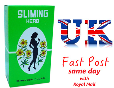 40 Tea Bags GERMAN SLIMING HERB Green TEA Slimming Weight Loss calories burning