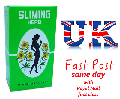 60 Bags GERMAN SLIMING HERB TEA Slimming Weight Loss calories burning Green Tea