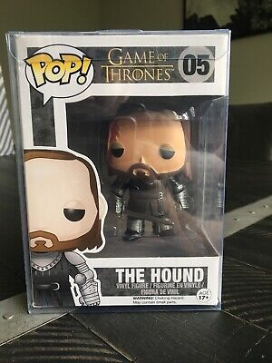 The Hound Funko Pop - Sandor Clegane #05 Vaulted Rare Vinyl Game Of Thrones