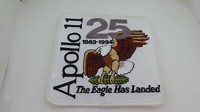 ECUSSON / PATCH APOLLO 11 THE EAGLE HAS LANDED 25th ANNIVERSARY 1969 - 1994 TOP