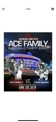 Ace Family Charity Basketball Event - Tickets!