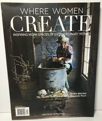Where Women Create Apr/May/Jun 2019 Inspiring Work Spaces Extr Women #6