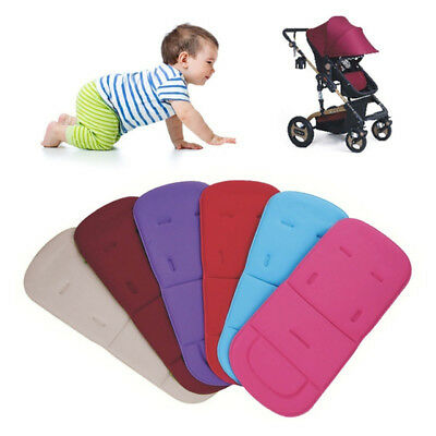 Ee_ Baby Childs Baby-Buggy Stroller Pushchair Seat Soft Liner Cushion Mat Pad St