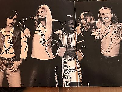Gregg Allman Brothers Signed X4 Enlightened Rogues Lp Bas Beckett Authentication