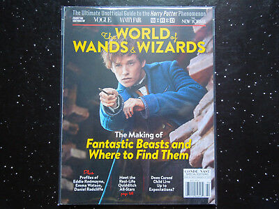 The World Of Wands & Wizards - Making Of Fantastic Beasts ( Conde Nast 2016 )