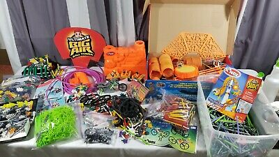 HUGE LOT Knex Building System Big Air Ball Tower Space Rover Street Scorchers