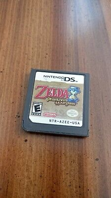 1x AUTHENTIC The Legend Of Zelda: Phantom Hourglass - DS - TESTED - GAME ONLY!