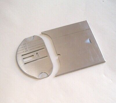 Singer 401a 403 500a 503 Sewing Machine Bobbin Cover Slide & Needle Throat Plate