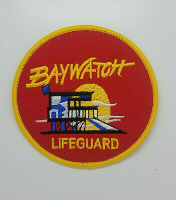 Baywatch Lifeguard Swimsuit Logo Patch 4 inches wide