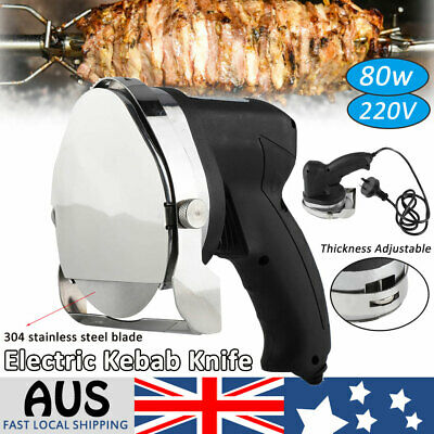 Commercial Kebab Knife Electric Meat Slicer Stainless steel  barbecue Cutter