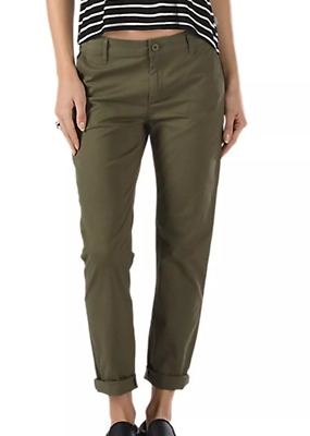a62c823f70 Vans Blackheart Chino Pant Ivy Green Womens Size 3 / 26 Cropped Pants Ankle  Pant
