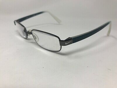 2962f5a21b4c NEW AUTHENTIC MEN Eyeglasses Nike 8091 001 Shiny Black And Clear 51 ...