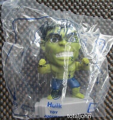 McDonalds Avengers # 8 Hulk Happy Meal Toy New Unopened Package