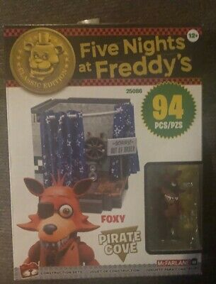 Five Nights At Freddys CLASSIC EDITION PIRATE COVE WITH FOXY 94 Pcs! FNAF!!!