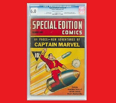 Captain Marvel Special Edition Comics #1 CGC 6.0 8/40 1st Devoted to Capt Marvel