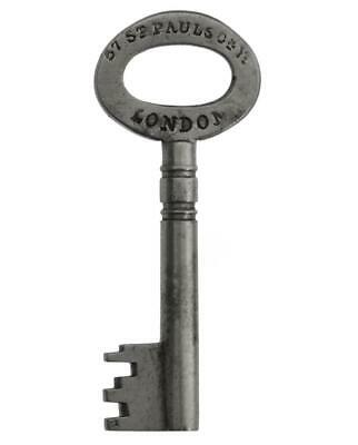 "Antique CHUBB Patent Key 1½"" - 57 St Paul's Churchyard LONDON 1827-1877 ref.k813"