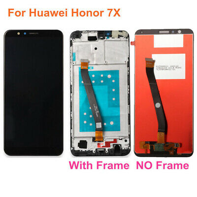PER HUAWEI HONOR 7X / 7 LCD Touch Screen Digitizer Schermo Assembly w/ Frame DL1