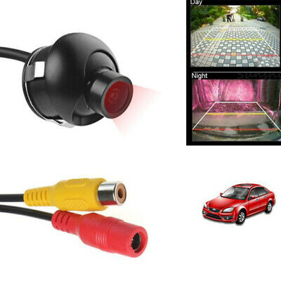 360° Car Rear Front View Backup Reverse Camera HD CCD CMOS Night Vision TC