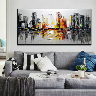 VV032 Large Modern Room Decoration Abstract Oil Painting Hand-painted on canvas