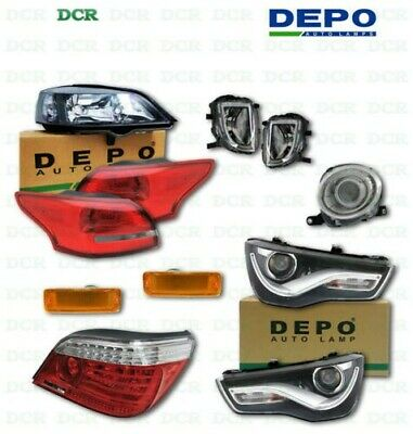 Depo 444-2016R-AQ BMW Right Hand Side Fog Lamp Assembly