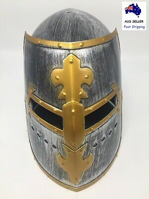 Medieval Warrior Helmet Adult Adjustable Medieval Knight Helmet Costume Headwear