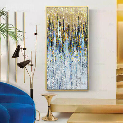 VV040 Large Modern Room Decoration Abstract Oil Painting Hand-painted on canvas