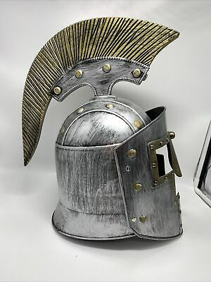 Medieval Spartan Helmet Armor Knight Adult Costume Cosplay Wearable Helmet