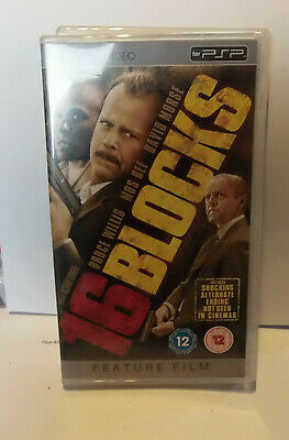 16 Blocks   (very good)  Sony PSP UMD Video Movie