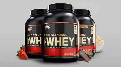 Optimum Nutrition Gold Standard 100% Whey Protein Isolates Powder 5 lb ( 2.27kg)