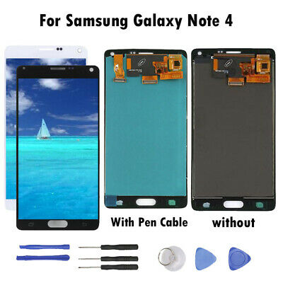 POUR Samsung Galaxy Note 4 Écran tactile LCD NEUF DIGITIZER Assembly + Outils DL