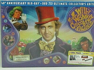 WILLY WONKA & THE CHOCOLATE FACTORY - Ultimate Collectors Edition DVD / BLU-RAY