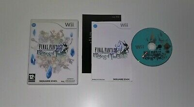Final Fantasy Crystal Chronicles Nintendo Wii Wii U PAL Italiano Completo