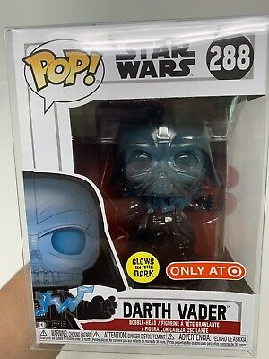 Funko Pop! Star Wars Darth Vader #288 Target Exclusive Glow In The Dark Sold Out