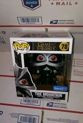 """Funko Pop Game Of Thrones: The Mountain Masked 6"""" In. Walmart Exclusive. Presale"""