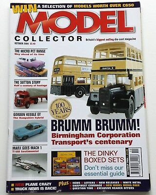Model Collector #194 Oct 2004 Gordon Keeble GT Micro Pets Dinky Boxed Sets Brumm