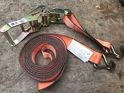 Ratchet Straps Tie Down  3 x 6m x 25mm  1.5 tons Claw Lorry Lashing Handy Straps