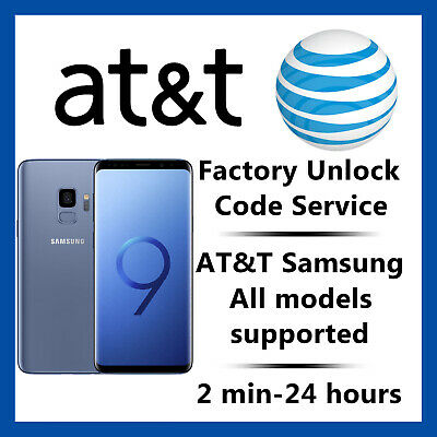 At&T Unlock Code Service For Samsung Galaxy S2,S3,S4,S5,S6,S7, Note 3,4,5 Active