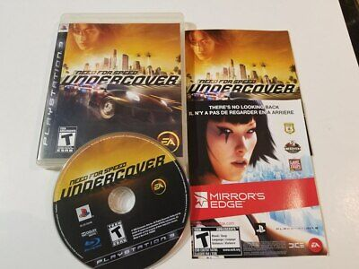 Need for Speed: Undercover (Sony PlayStation 3, 2008) PS3 CIB Tested