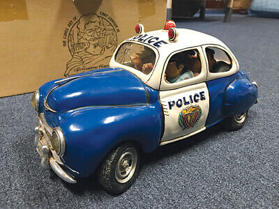 Guillermo Forchino Police Car Sculpture
