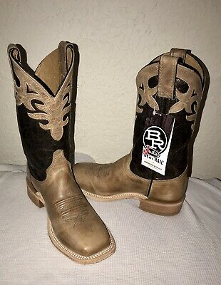 8a2594aabe0 JUSTIN COWBOY BOOTS Bent Rail Camouflage Brown Leather Mens 9 D Camo ...