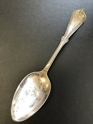 M.M. FREDERICK VIRGINIA CITY NEVADA Comstock Silver LARGE SPOON 1860's-1870's!!!