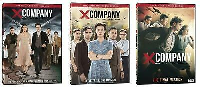 X Company Complete TV Series All 1-3 Seasons DVD Set Collection Episodes Show US