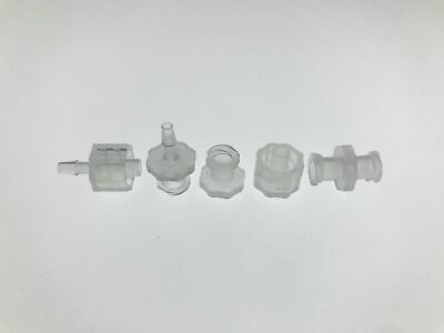 (100) Luer Lock Connector (polyprop) Luer Lock Syringe fitting