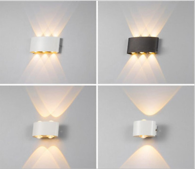 LED Wall Light 2W 4W 6W 8W Dual Head Sconce Lamp Light Fixture Outdoor Lighting