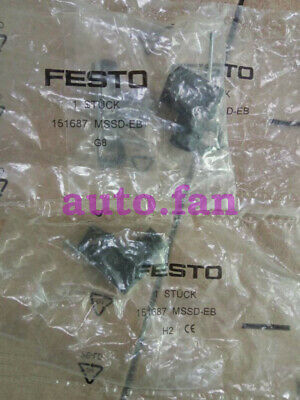 New FESTO MSSD-EB 151687 Link Plug ***Fast Free Shipping from the USA***