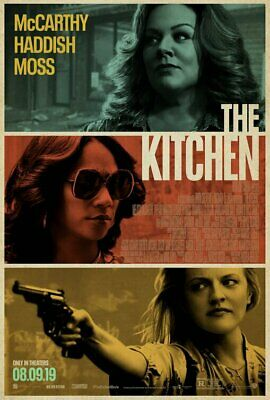 THE KITCHEN (2019) 27X40 LARGE MOVIE POSTER-(DS)Melissa McCarthy,Elisabeth Moss