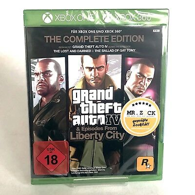 GTA 4 - Grand Theft Auto IV The Complete Edition - Xbox 360 Xbox One *nagelneu*