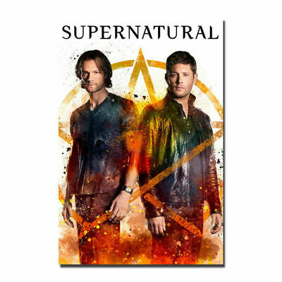 Supernatural TV series Jared Padalecki Premiere Art Silk Poster 12x18 24x36